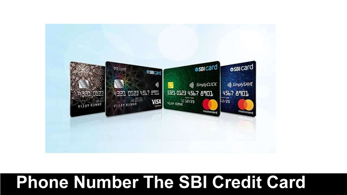 How To The Changing Mobile Phone Number The SBI Credit Card