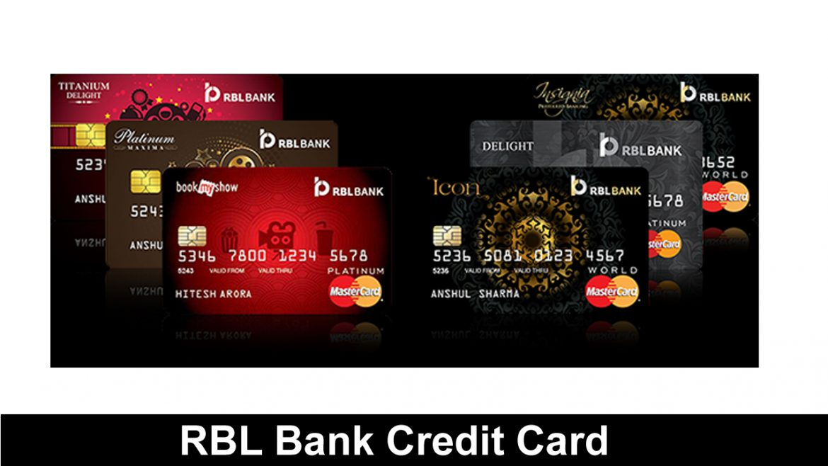 RBL Bank Credit Card For The First Time